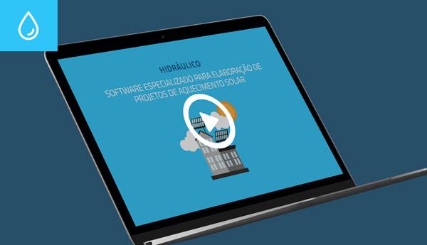 Software especializado para elaboração de projetos de aquecimento solar