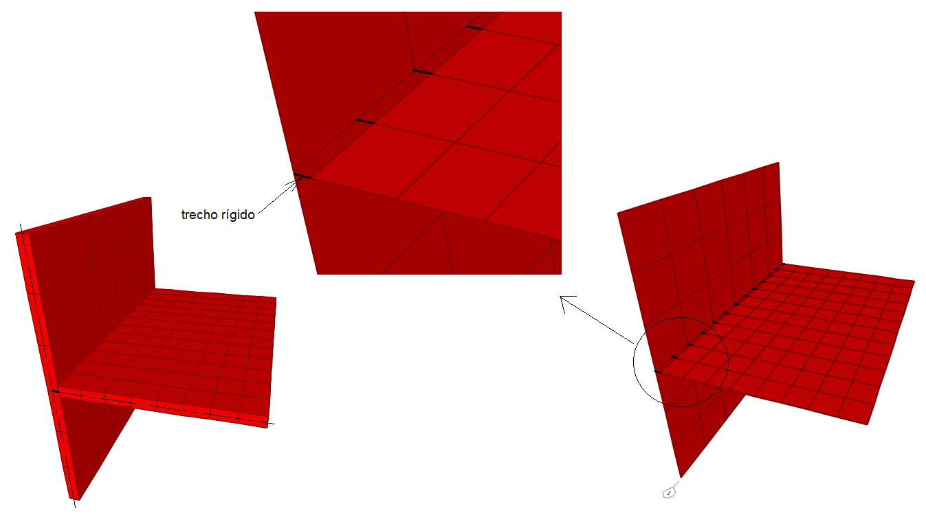 Cálculo de pilares parede - Ligação pilar parede - lajes do pavimento