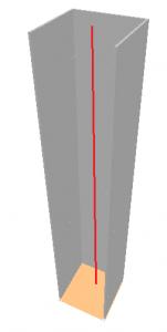 Modelação estrutural de pilares parede: barra equivalente