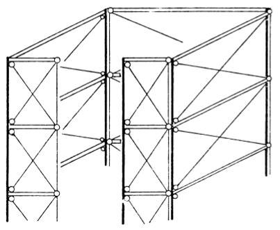 Modelação estrutural de pilares parede: Treliça equivalente