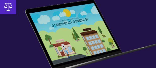 Infográfico interativo: Legalização de projetos e obras, o caminho até o habite-se