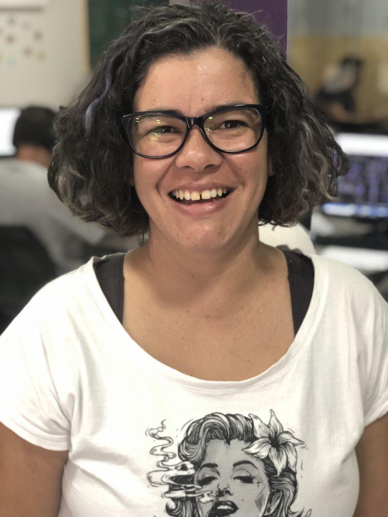 Anamélia Adriano engenheira civil gerente de projetos